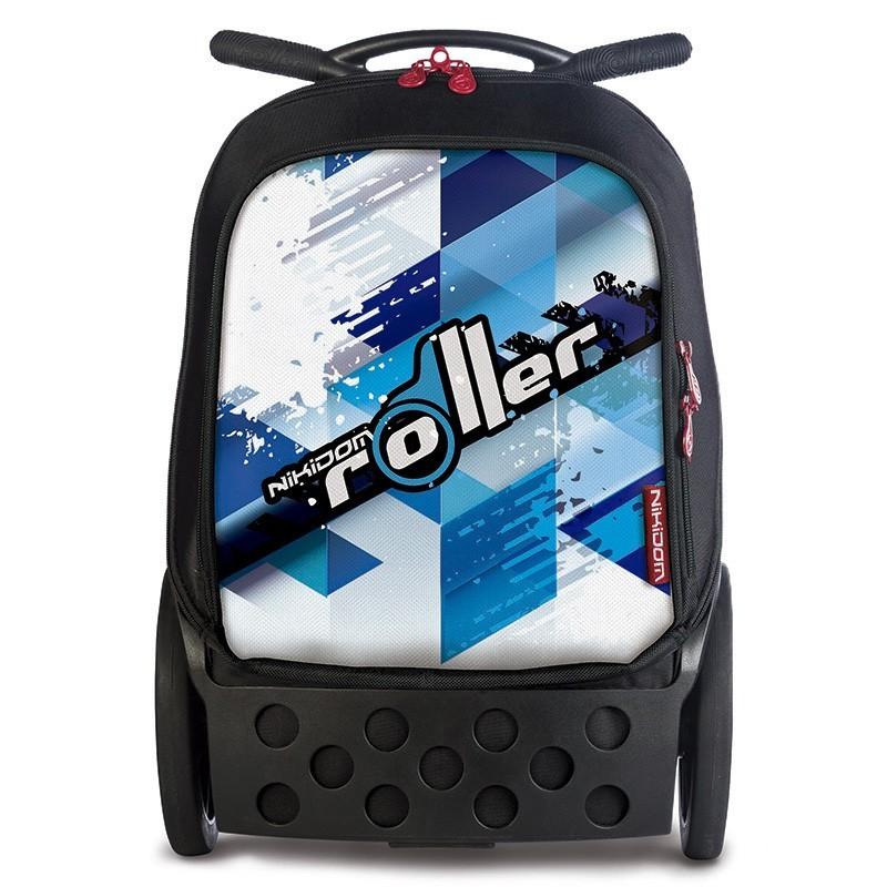 PLECAK NA KÓŁKACH ROLLER - Cool Blue