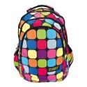 Plecak młodzieżowy 06 ST.REET w kolorowe kwadraty SQUARES