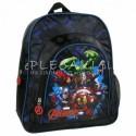 Mały plecaczek do zerówki, przedszkola, wycieczkowy - czarny z Avengersami