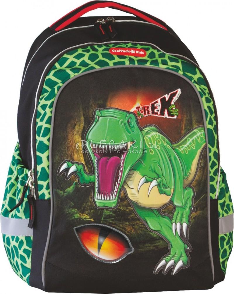 47117b7e1c74c Plecak szkolny Coolpack CP for Kids dla chłopca z dinozaurem