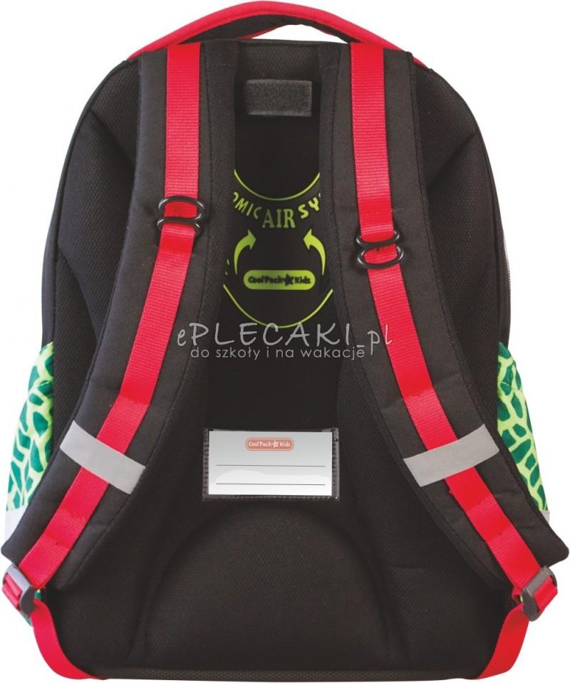 c2095a77ad013 Plecak szkolny Coolpack CP for Kids dla chłopca z dinozaurem