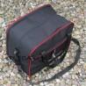 TORBA - bagaż podręczny - mały wizzair + komora na laptop - CZERWONA LAMÓWKA