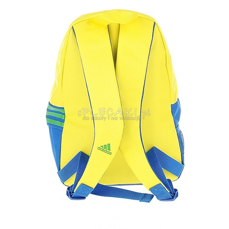 cacc9b58f6614 Mały plecaczek wycieczkowy Addidas - żółty