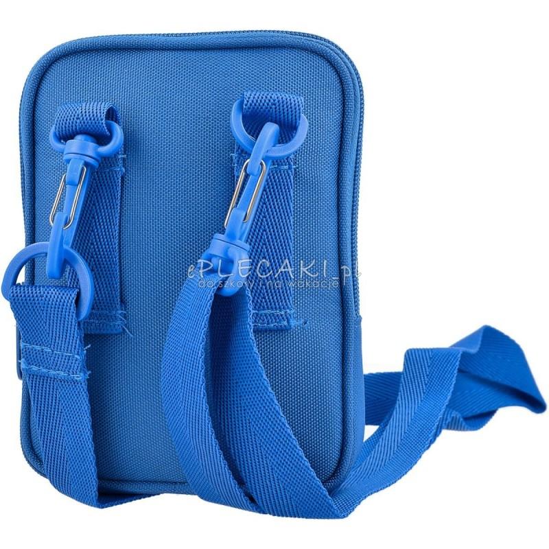 6907fc028b6b4 ... Torebka na ramię Adidas ORIGINALS Festival Bag Trefoil - niebieska ...