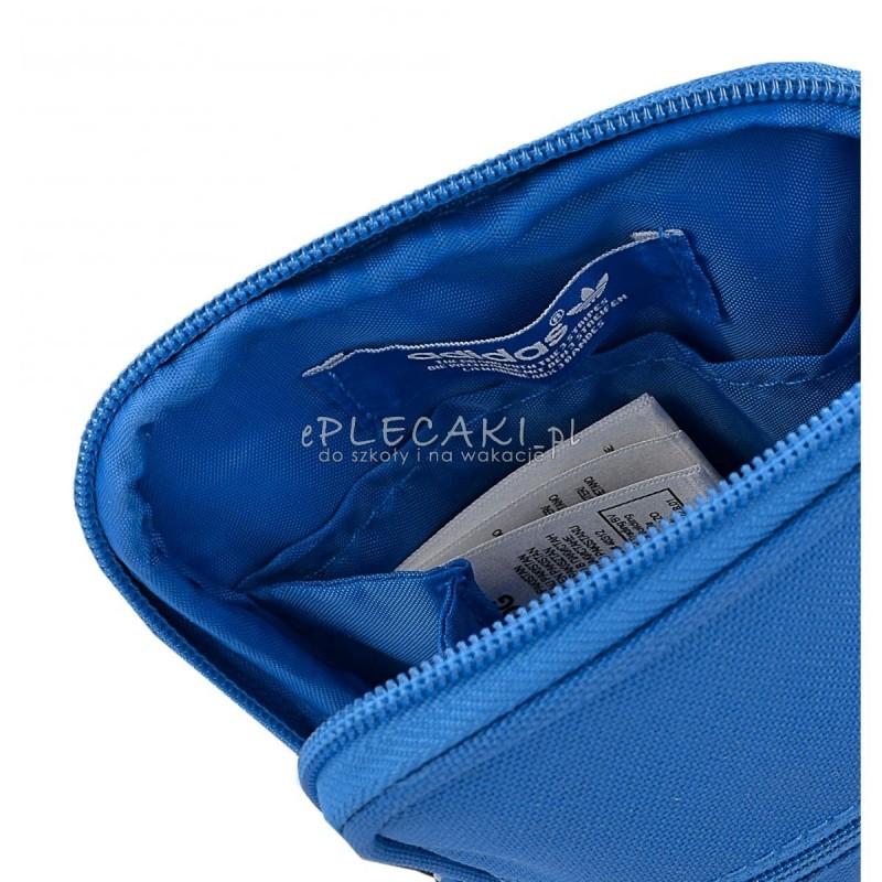 c450c92fc0a7d ... Torebka na ramię Adidas ORIGINALS Festival Bag Trefoil - niebieska