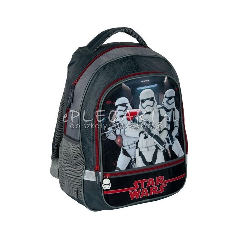 fa6aace715c54 Lekki plecak do szkoły podstawowej z serii Gwiezdne wojny dla chłopca