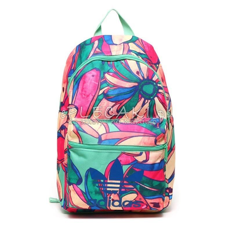 553dbfb8bc891 Plecak młodzieżowy Adidas Classic Bananas - ePlecaki do szkoły i na ...