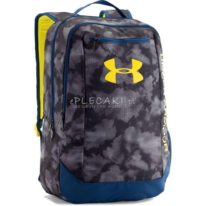 e7f1f3c27ddb0 Plecak Under Armour Hustle LDWR Backpack - szaro-żółty
