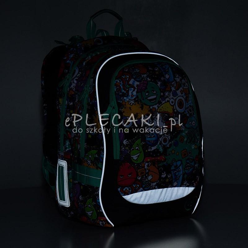 d3909b9dd6f6a Plecak szkolny Topgal z kolorowymi potworkami CHI 846C