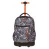 Plecak na kółkach CoolPack CP czarno-biały do kolorowania SWIFT BLACK LACE 1069 - MANDALA