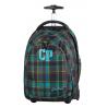 Plecak na kółkach CoolPack CP TARGET ciemna kratka MARENGO 687 dla chłopca