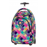 Plecak na kółkach CoolPack CP pastelowe kolory w kratkę TARGET PATCHWORK 1042