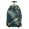 Plecak na kółkach CoolPack CP zielony w kratkę TARGET VERDURE 624 dla chłopca