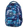 Plecak młodzieżowy CoolPack CP niebieskie kryształy - 5 przegród COLLEGE FROZEN BLUE 637