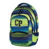 Plecak młodzieżowy CoolPack CP zielono-niebieski w paski - 5 przegród COLLEGE MULTI STRIPES 644
