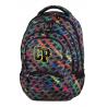 Plecak młodzieżowy CoolPack CP kolorowe paski - 5 przegród COLLEGE RAINBOW STRIPES 658