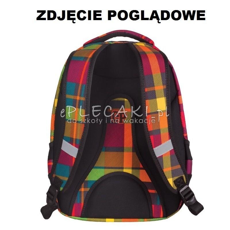 6310b5a797c5c ... Plecak młodzieżowy 2w1 CoolPack CP różowo-fioletowy w kratkę - COMBO  SCARLET 667 dla dziewczynki ...