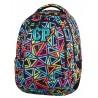 Plecak młodzieżowy CoolPack CP w kolorowe trójkąty 2w1 COMBO COLOR TRIANGLES 653