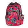 Plecak młodzieżowy CoolPack CP w egzotyczne kwiaty SPARK II CARIBBEAN BEACH 743