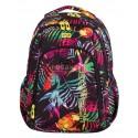 Plecak młodzieżowy CoolPack CP tropikalne liście STRIKE  TROPICAL ISLAND 769 dla dziewczynki