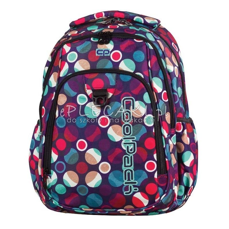 472f526f84ba1 Plecak młodzieżowy CoolPack CP pastelowe kropki STRIKE MOSAIC DOTS 719