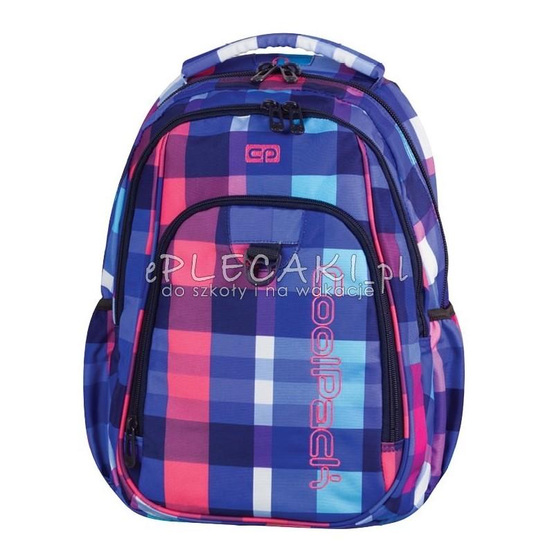 8560fec6983fa Plecak szkolny CoolPack CP kolorowe kwadraty Strike dla dziewczyny