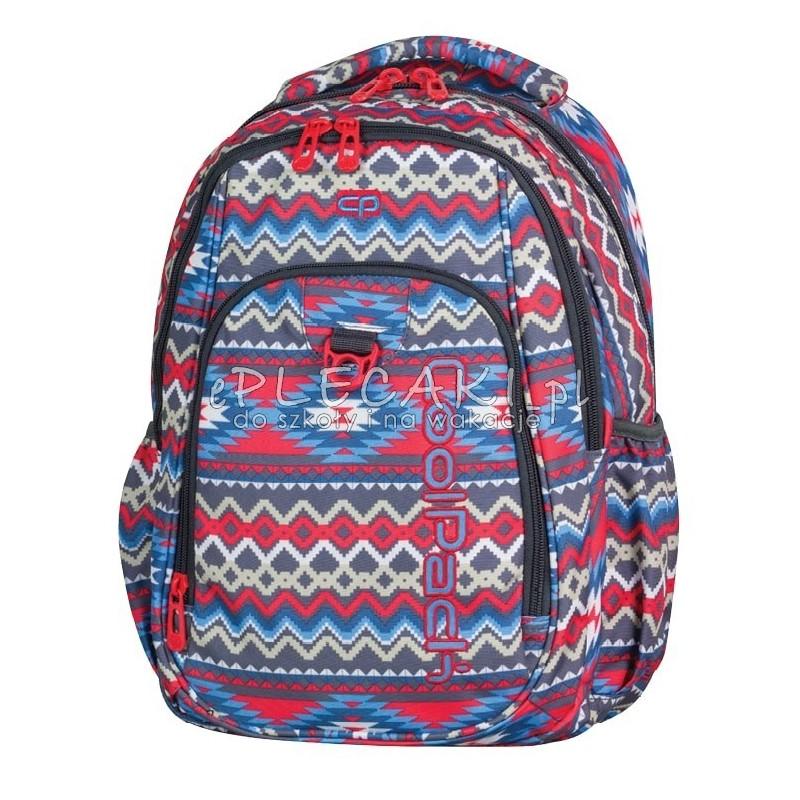 291b0da44e449 Plecak młodzieżowy CoolPack CP czerwono-niebieski boho STRIKE BOHO BEIGE 803
