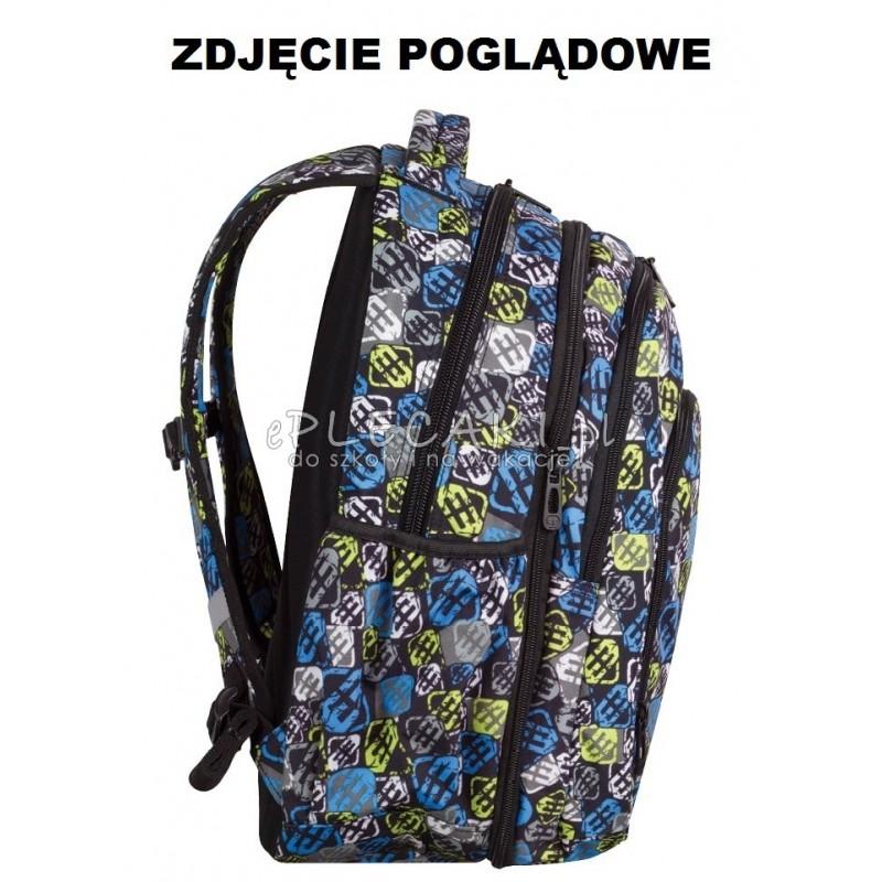 1a94c7e20d8a9 ... Plecak młodzieżowy CoolPack CP duży - czarny z błyskawicą MAXI  LIGHTNING 759 ...