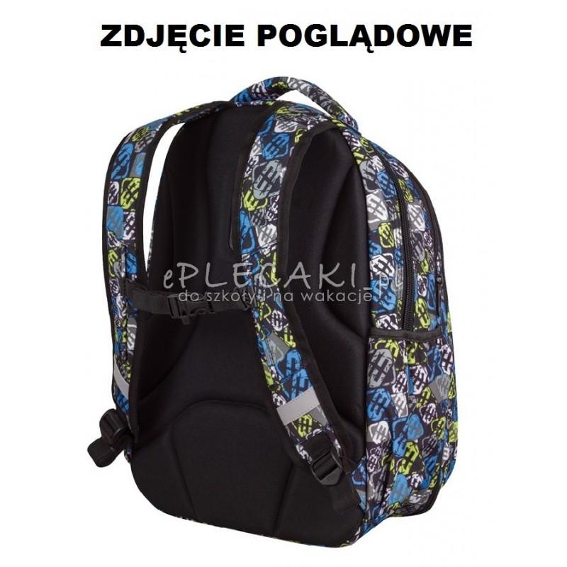 a9df24099cbff ... Plecak młodzieżowy CoolPack CP duży - czarny z błyskawicą MAXI  LIGHTNING 759