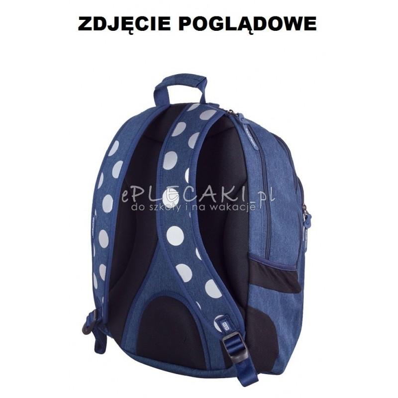 b8153dee0a797 ... Plecak młodzieżowy CoolPack CP szary w kropki UNIT SILVER DOTS GREY 702  ...