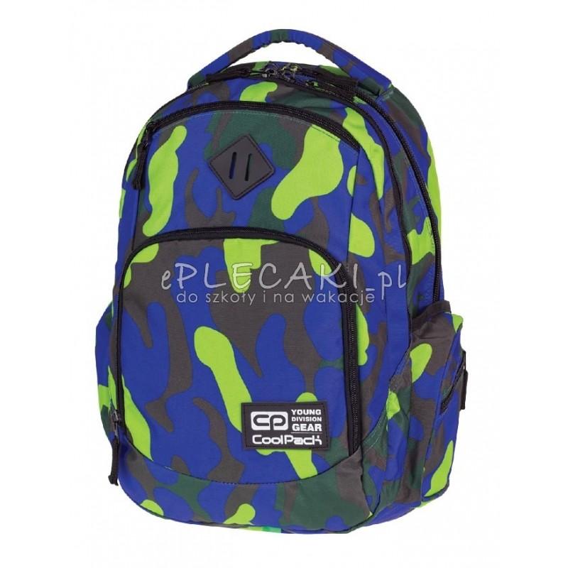 52e93d226ea6b Plecak młodzieżowy COOLPACK CP - BREAK MORO CAMOUFLAGE LIME 874