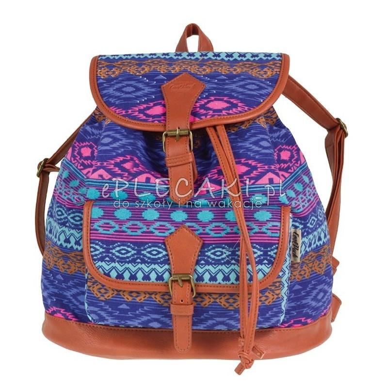 9f9e25d3acb8a Plecak vintage CoolPack CP aztec niebieski FIESTA BLUE TRIBAL 1028 ...