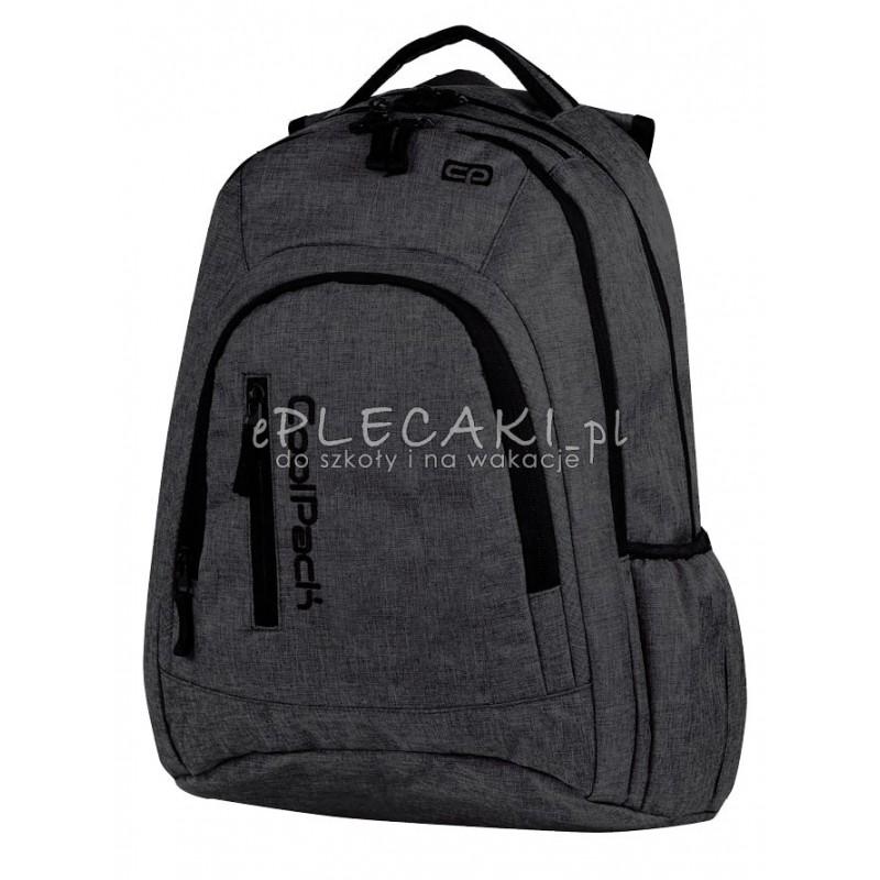 Plecak młodzieżowy na laptop CoolPack CP szary denim MERCATOR SNOW GREY 594