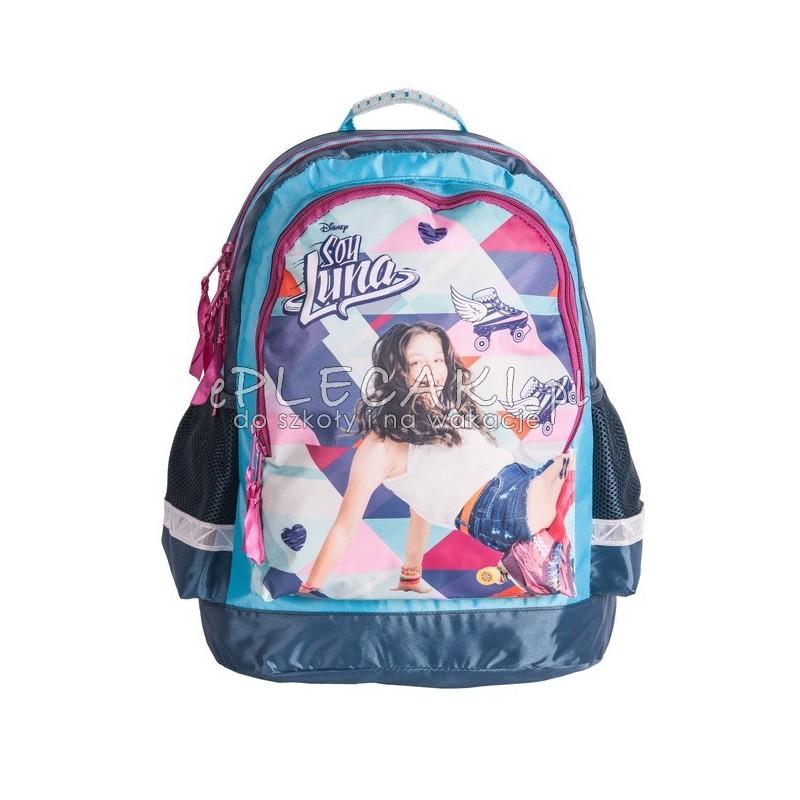 11f6e2aa8b9c6 Kolorowy plecak do szkoły Soy Luna z Luną dla dziewczynki