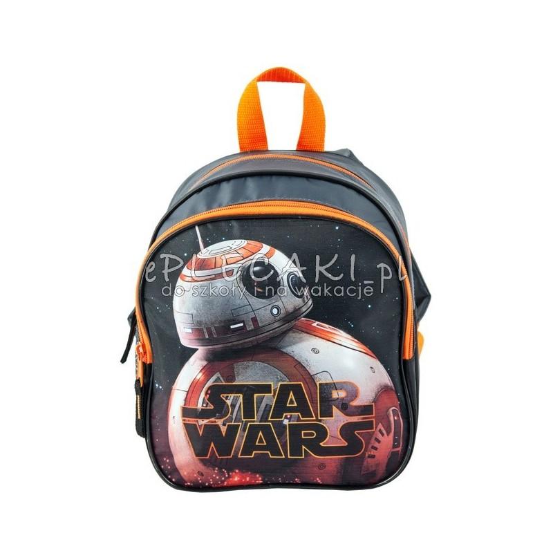 33ae25e096757 Plecak do przedszkola dla chłopca Star Wars z droidem