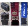 RYANAIR torba - bagaż podręczny - kieszeń na LAPTOP - NIEBIESKA LAMÓWKA