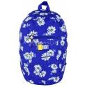 Plecak miejski, wycieczkowy 09 ST.RIGHT DAISIES niebieski w stokrotki