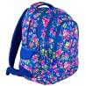Plecak młodzieżowy 06 ST.RIGHT FLOWERS NAVY BLUE w kwiaty