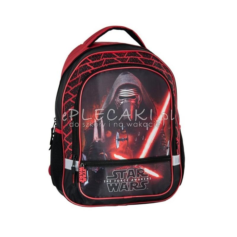 f26e80da00fe3 Plecak szkolny dla chłopca Star Wars z Kylo Renem czarny Paso