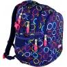 Plecak młodzieżowy 01 ST.RIGHT HOOPS kolorowe kółka