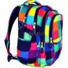 Plecak młodzieżowy 01 ST.RIGHT MAXI SQUARES kolorowe kwadraty