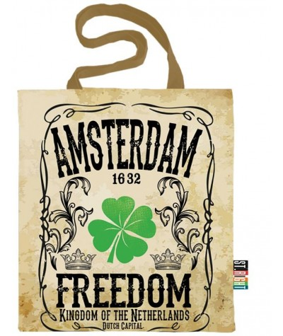 Torba eko na ramię / fullprint / szoperka / shopperka ST.RIGHT - AMSTERDAM