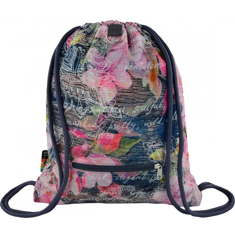 eb0d8d35cf294 Worek fullprint   plecak na sznurkach ST.RIGHT Flowers Pink