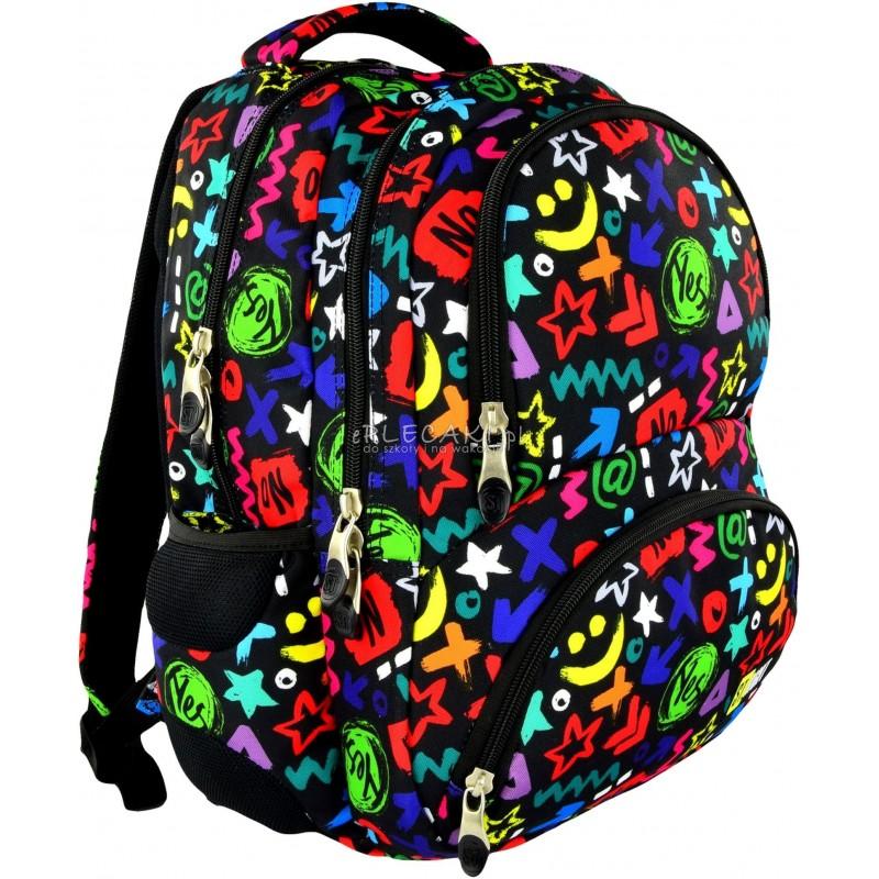 392a6b1ea2415 Plecak szkolny 07 ST.RIGHT Yes or No dla dziewczynki lub chłopca