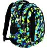 Plecak młodzieżowy 04 ST.RIGHT PIXELMANIA GREEN zielone pixele