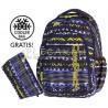 Plecak do klas 1-3 CoolPack CP czarny w zygzaki PRIME TIE DYE BLUE 1060 dla chłopca + GRATIS