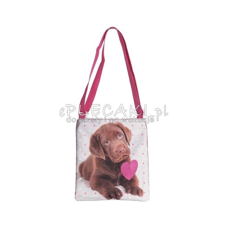 153948158e3b1 Torebka na ramię Rachael Hale z psem brązowy labrador - ePlecaki do ...