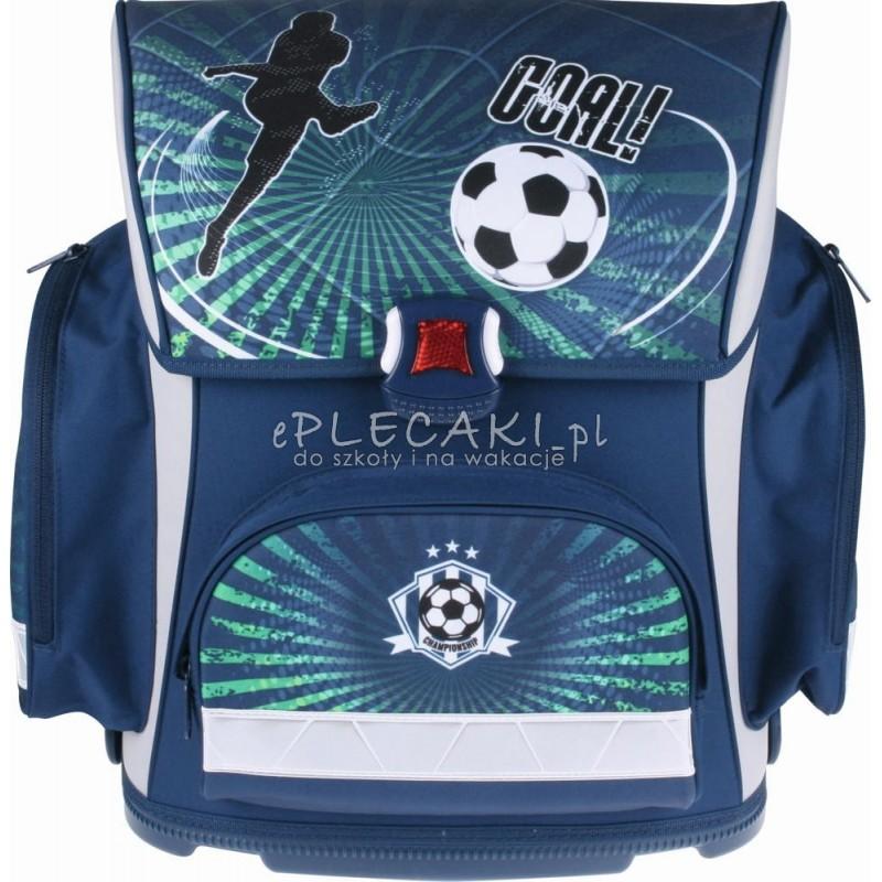 8e35759ea3a42 Tornister szkolny piłka nożna STYLEX niebieski dla chłopca