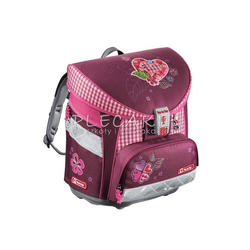 016b4943608a8 Tornister szkolny Step By Step Tweedy Hearts serce dla dziewczynki