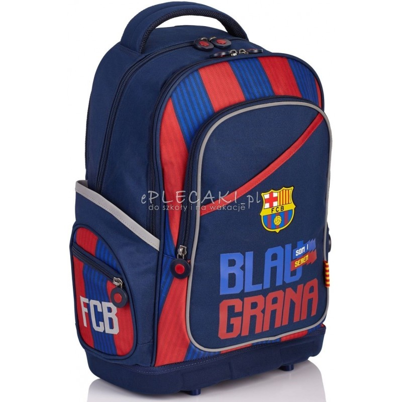 a1b743e9f3d42 Plecak szkolny FC Barcelona dla chłopca - ergonomiczny Blaugrana